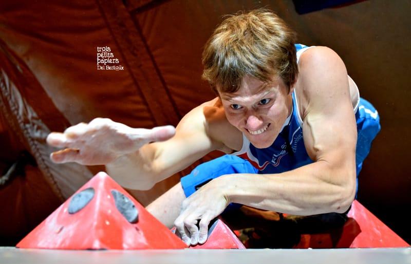 Alexey Rubstov ne lache rien lors de la finale du TAB 2016